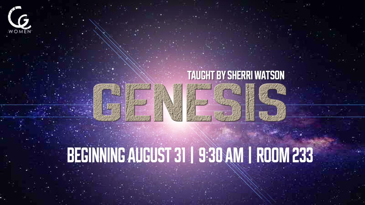 Women's  Ministry - Study in Genesis